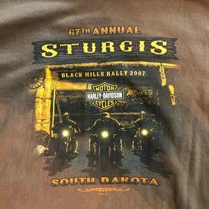 Men's Harley Davidson Sturgis/Deadwood T-shitt